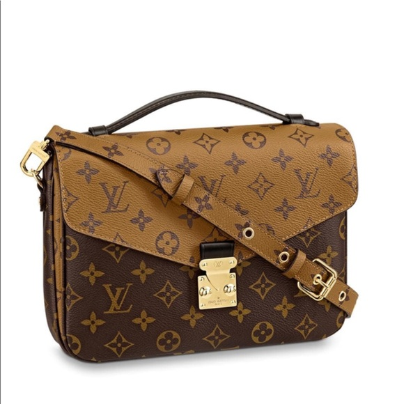 2a9d668d89c6 😍Louis Vuitton POCHETTE METIS in Monogram Reverse